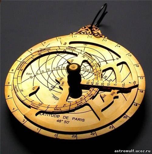 Точно описывать процесс работы астролябии было бы бессмысленно - лучше всег